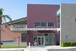 Fender Museum in Colrona California